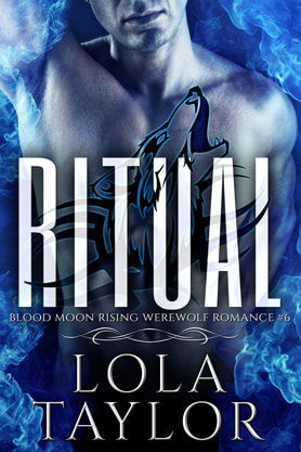 Paranormal Romance (Shape shifters) book cover design, ebook kindle amazon, Lola Taylor, Ritual