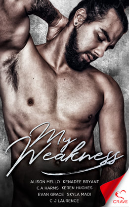 Contemporary Romance book cover design, ebook kindle amazon, My Weakness, Collection