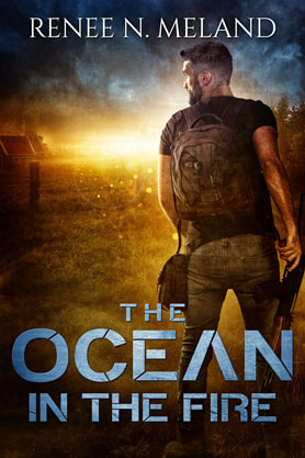 Post-Apocalyptic book cover design, ebook kindle amazon, Renee N Melland, Ocean