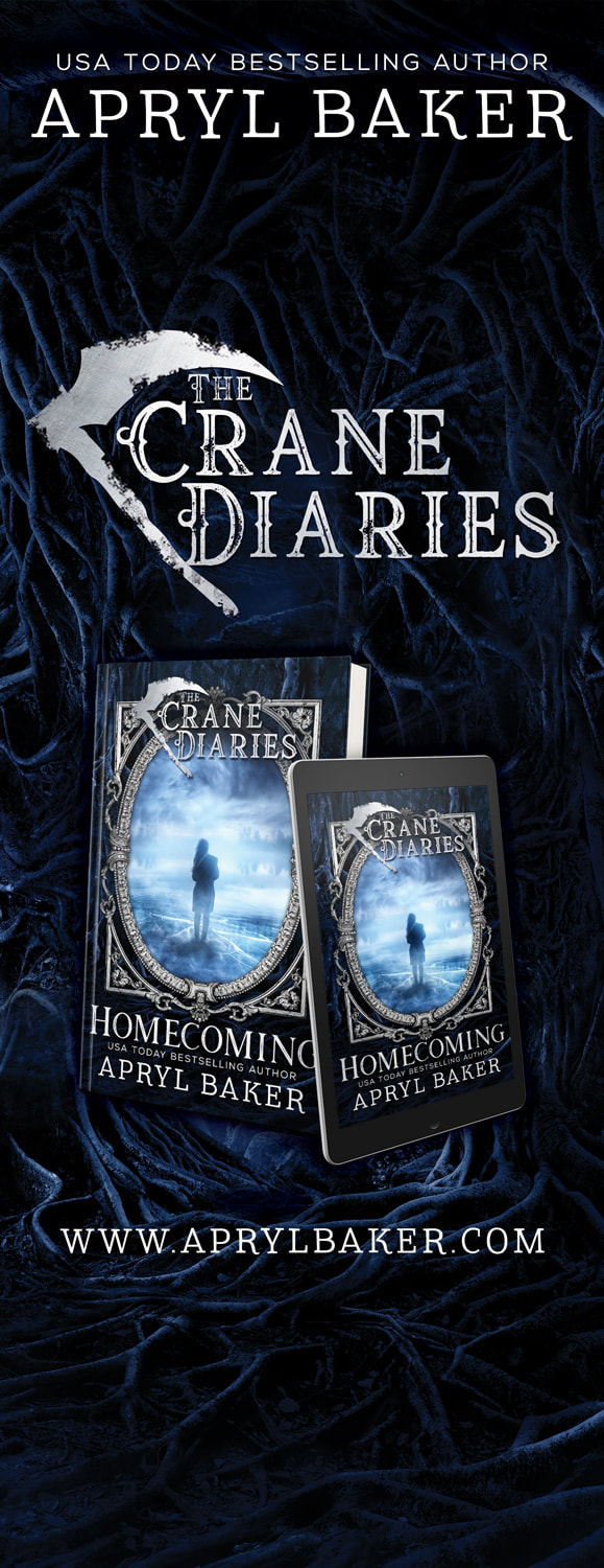 roll up and table banners, apryl baker, the crane diaries