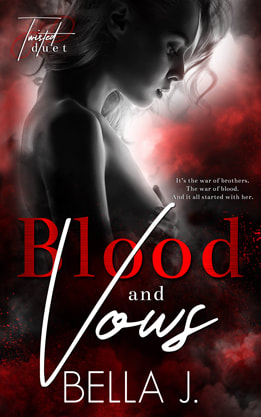 PictureContemporary Romance book cover design, ebook, kindle, Amazon, Bella J Blood and Vows