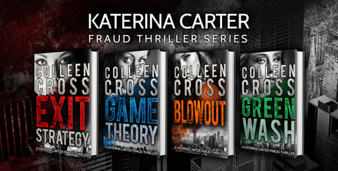Promo banner, Available now, Box set, Katerina Carter