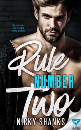 Contemporary Romance book cover design, ebook kindle amazon, Nicky Shanks , Rule Two