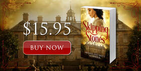 Promo banner, Facebook ad, Buy Now, Skipping Stones