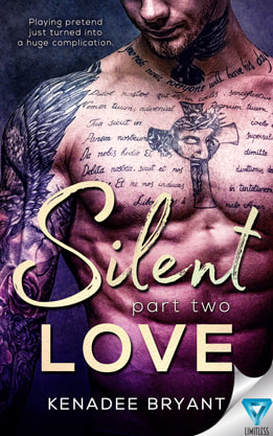 Contemporary Romance book cover design, ebook kindle amazon,Kenadee Bryant, Silent Love, Two