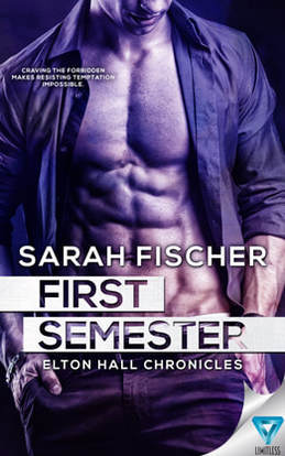 Contemporary (Young Adult) Romance book cover design, ebook kindle amazon, Sarah Fischer, Semester