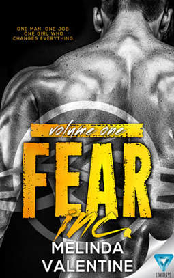 Contemporary (New Adult) Romance book cover design, ebook kindle amazon, Melinda Valentine, Fear