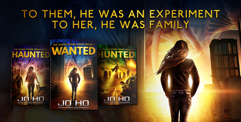 Promo banner, Available now, Box set, Jo Ho