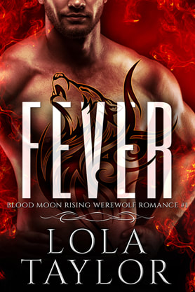Paranormal Romance (Shape shifters) book cover design, ebook kindle amazon, Lola Taylor, Fever