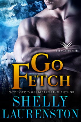 Paranormal Romance (Shape shifters) book cover design, ebook kindle amazon, Shelly Laurenston, Fetch
