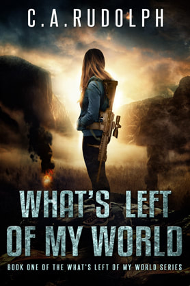 Post-Apocalyptic book cover design, ebook kindle amazon, C A Rudolph, World