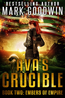 Post-Apocalyptic book cover design, ebook kindle amazon, Grucible