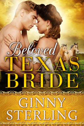 Historical Romance book cover design, ebook kindle amazon, Ginny Sterling, Texas