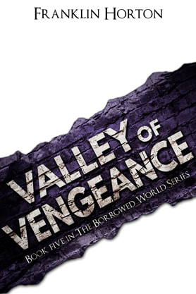 Valley of Vengeance, Title Page, Franklin Horton