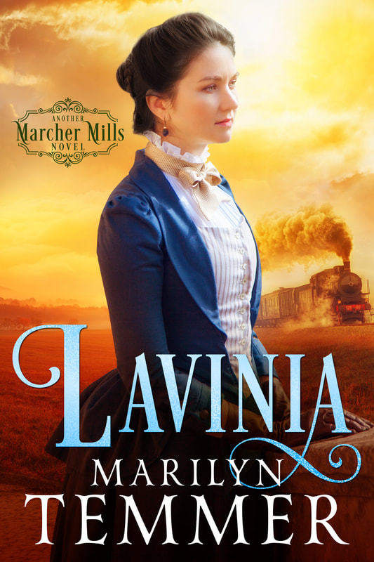 Historical Romance book cover design, ebook kindle amazon, Marilyn Temmer, Lavinia