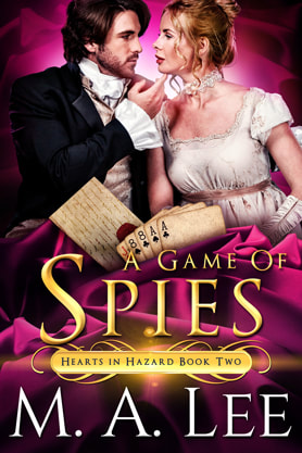 Historical romance book cover design,  ebook kindle amazon, M.A.Lee, Spies
