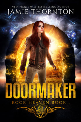 Young Adult/Post Apocalyptic book cover design, ebook kindle amazon, Jamie Thornton, Doormaker 1