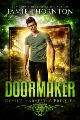Young Adult/Post Apocalyptic book cover design, ebook kindle amazon, Jamie Thornton, Doormaker