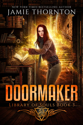 Young Adult/Post Apocalyptic book cover design, ebook kindle amazon, Jamie Thornton, Doormaker 2