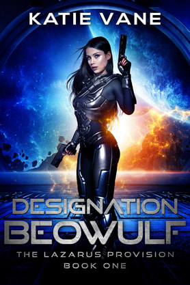 Science Fiction Fantasy book cover design, ebook kindle amazon, Katie Vane, Designation