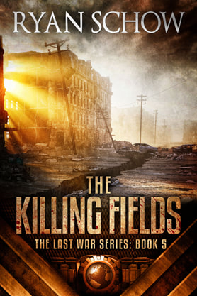 Post-Apocalyptic book cover design, ebook kindle amazon, Ryan Schow, killing