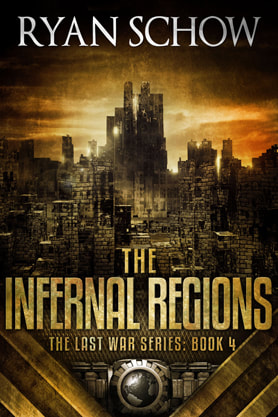 Post-Apocalyptic book cover design, ebook kindle amazon, Ryan Schow, regions