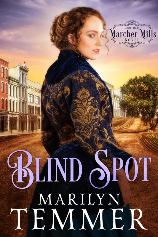 Historical Romance book cover design, ebook kindle amazon, Marilyn Temmer, Blind Spot