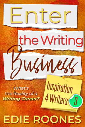 Nonfiction (Writing Skill Reference) book cover design, amazon, kindle, ebook, Edie Roones, Enter the Writing Business