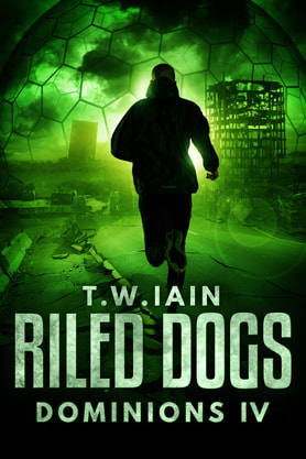 Science Fiction Fantasy book cover design, ebook kindle amazon, T W Iain, Dogs