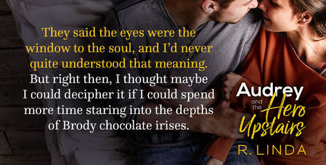 R. Linda, Audrey and the Hero Upstairs, teaser 01