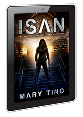 eBook cover design for ISAN by Mary Ting