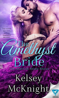 Historical Romance book cover design, ebook kindle amazon, Kelsey McKnight, Amethyst