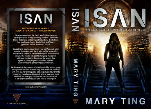 Paperback cover design for ISAN by Mary Ting