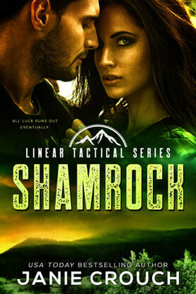 Romantic Suspense book cover design, ebook kindle amazon, Janie Crouch, Shamrock