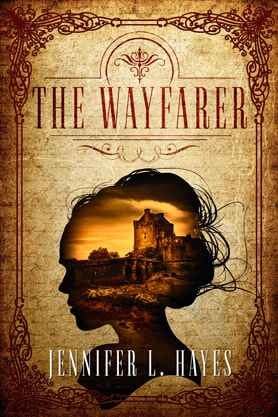 Historical Fiction book cover design, ebook kindle amazon, Jennifer L. Hayes, Wayfarer
