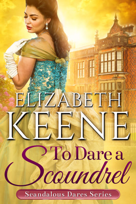 Historical Romance book cover design, ebook kindle amazon, Elizabeth Keene, Scoundrel