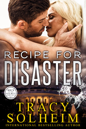 Romantic Suspense book cover design, ebook kindle amazon, Tracy Solheim, Recipe for Disaster