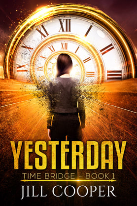 Young Adult Fantasy book cover design, ebook kindle amazon, Jill Cooper, Yesterday