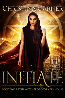 Young Adult/Post Apocalyptic book cover design, ebook kindle amazon, Christina Garner, Initiate