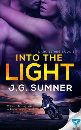Romantic Suspense book cover design, ebook kindle amazon, J.G. Sumner, Light