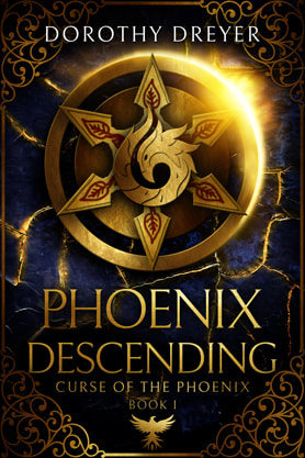 Fantasy book cover design, ebook kindle amazon, Dorothy Dreyer, Phoenix