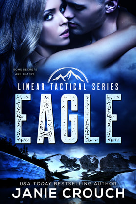 Romantic Suspense book cover design, ebook kindle amazon, Janie Crouch, Eagle
