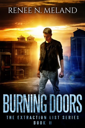 Young Adult/Post Apocalyptic book cover design, ebook kindle amazon, Renee N Meland, Doors