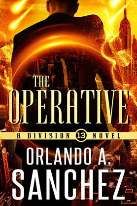Science Fiction Fantasy book cover design, ebook kindle amazon, Orlando A. Sanchez, Operative