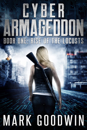Post-Apocalyptic book cover design, ebook, kindle, amazon, Mark Goodwin, Cyber