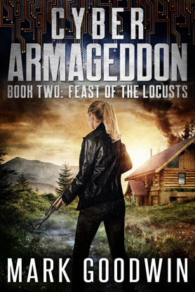 Post-Apocalyptic book cover design, ebook, kindle, amazon, Mark Goodwin, Armageddon