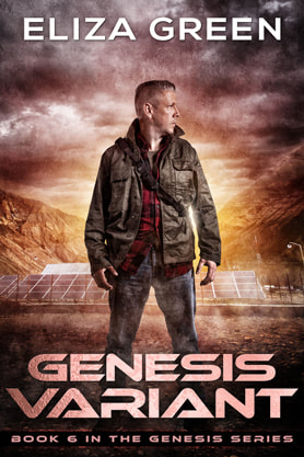 Post-Apocalyptic book cover design, ebook, kindle, amazon, Variant, Eliza Green