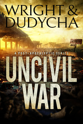 Post-Apocalyptic book cover design, ebook kindle amazon, Wright and Dudycha, War