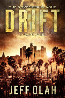 Post-Apocalyptic book cover design, ebook kindle amazon, Jeff Olah, Drift