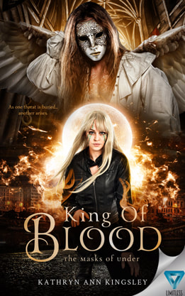 Young Adult/Post Apocalyptic book cover design, ebook kindle amazon,Kathryn Ann Kingsley, Blood